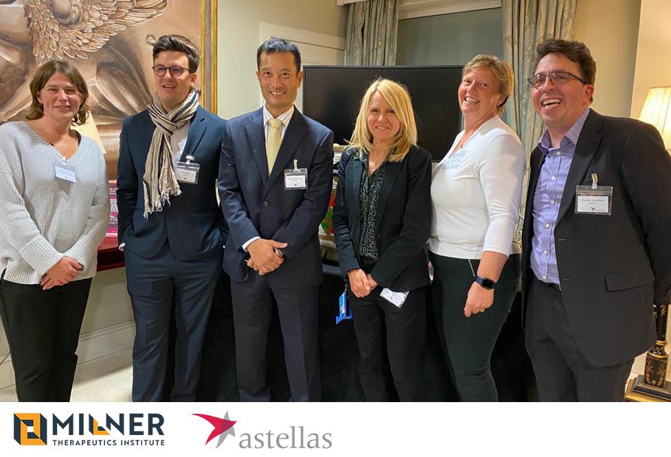 Astellas join Milner Therapeutics Consortium