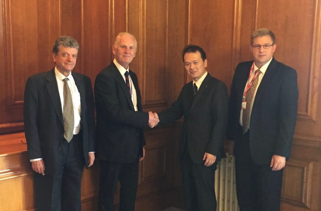 Milner facilitates strategic partnership between Nemesis and Shionogi
